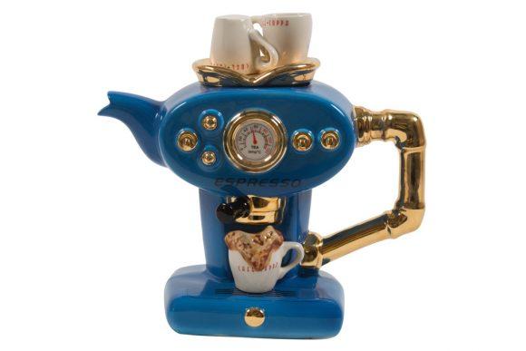 Single Espresso Blue Large