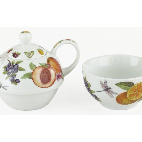 WEL015 Welcome Fruit Tea for One Split